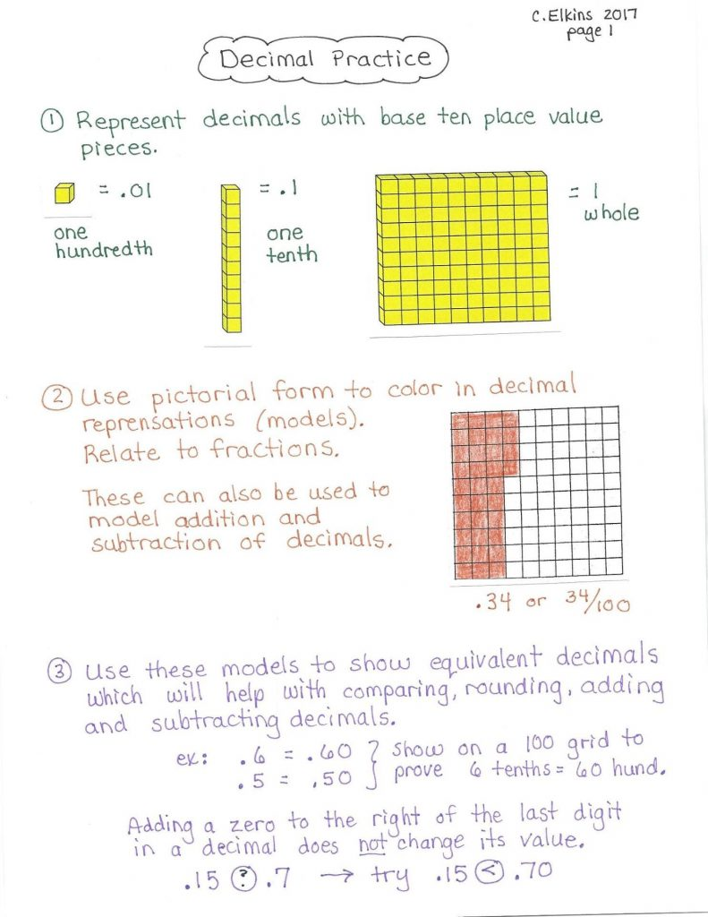 number lines | ok math and reading lady